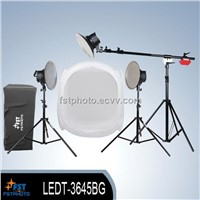 LED series studio continuous lighting kit
