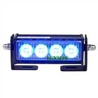 LED warning strobe light  bars  police car light 2W DC12V blue color