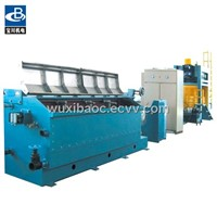Low speed copper rod breakdown machine (capstans type)