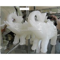 Marble,onyx handicraft, lovely elephant ,Carving craft