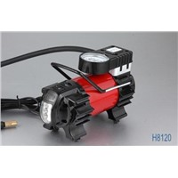 Metal car air compressor with 4 LED  Light   High quality