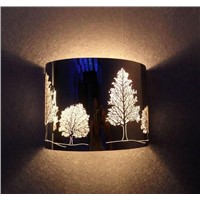 "Modern Wall Lamp(Bk03)-With ""tree"" Pattern,Simple"