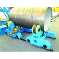 Movable welding rotator, can move self-algined