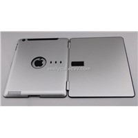 Muti-angle support of ultrathin Aluminum Case for iPad3