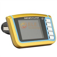 "New Car MP4 Player 1.7"" LCD Car MP4 MP3 Player with USB FM Transmitter remote control"