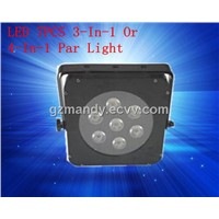 New Hot Sale LED 7pcs Bulbs 4in1 Square Par Light Rgbw Disco Light