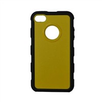 PC case for iPhone 4/4S, bio color, with brand hole