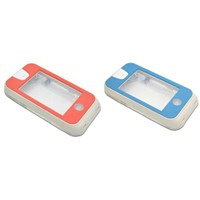 PC transparent waterproof case for iphone4/4s