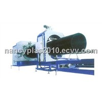 PE Large Diameter Hollow Wall Winding Conduit Extruder Line