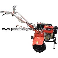 PG135CE-L Key Start Diesel Tiller With Light