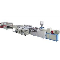 PVC free foamed board extrusion line