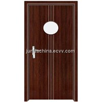 PVC glass door J6207