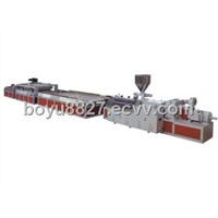 Plastic-wood hollow core door extrusion line