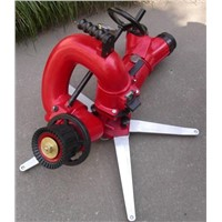 Portable ground fire fighting monitor