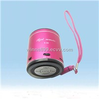 Portable mini usb digital speaker with fm radio E-88