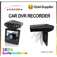 Professionally 12v car video recorder with IR night vision