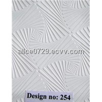 Pvc facing ceiling gypsum board