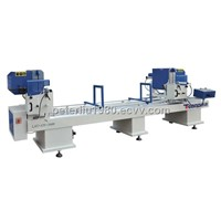 Pvc window and door Machine-Double Mitre Saw
