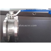 Q71F wafer ball valve