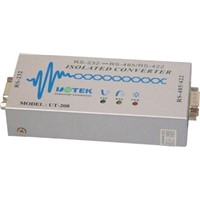 RS-232 to RS-485 RS-422 Converter With Photoelectric Isolation (UT-208)