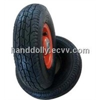 Rubber Pneumatic Wheel 3.50-4