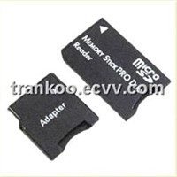 SDHC MicroSD / Transflash TF to Memory Stick PRO Duo Card Adapter (PSP Compatible)