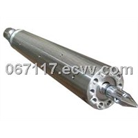 Screw and barrel for injection moulding machines