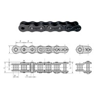 Short pitch precision roller chains (B series Duplex )