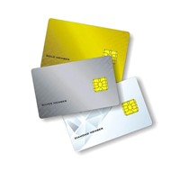 Sle5542 contact smart card and smart ic chip card price