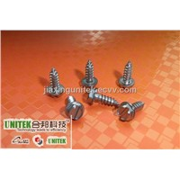 Slotted Hexagon Washer Head Sheet Metal Tapping Screw