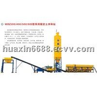 Stabilized Soil Mixing Plant WBZ