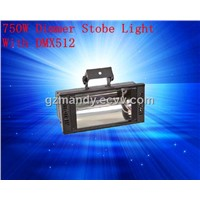Stage 750W Dimmer Stobe Light With DMX512
