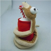 Stuffed snake plush toy from Disney supplier
