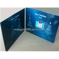 TFT Video greeting card