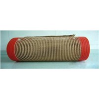 Teflon PTFE coated fiberglass open mesh conveyor belt