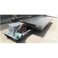 Tin ore concentration shaking table