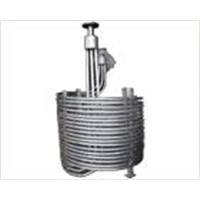 Titanium heating, cooling coil tube, titanium spiral pipe