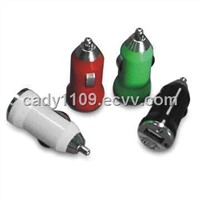USB In-Car Charger with 5W Output Power, Short Circuit Protection and Overload Protection
