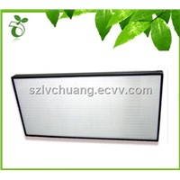 Ultra thin type air filter without seperation