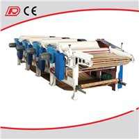 Used garments recycling machine