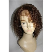 Wholesale Virgin Remy Brazilian human hair Full and Front Lace Wigs