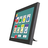 YL5-195 waterproof Touch screen LCD monitor for industrial lines