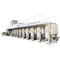 YLBZ-6700JS Gravure Printing & Embossing Wallpaper Production Line