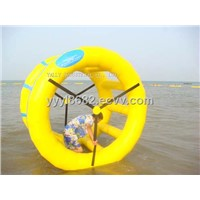 air tight inflatable water roller inflatable roller