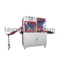 automatic sleeving machine for rolled anode & cathode of LIB