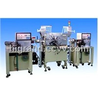 automatic stitching & winding machine for aluminum electrolytic capacitor