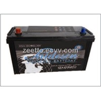automobile battery N100MF 12V100AH