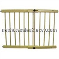 baby wooden door barrier
