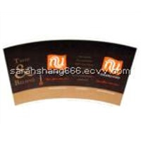 beautiful Pe coated paper cup fan/paper cup sheet