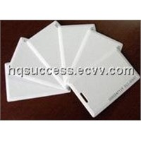 clamshell card,thick card,125KHz clamshell card,smart card printing